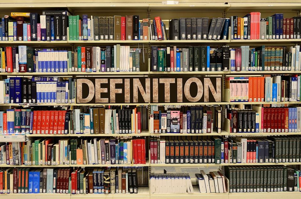 Bücherregal in Übersetzungsbüro Nürnberg