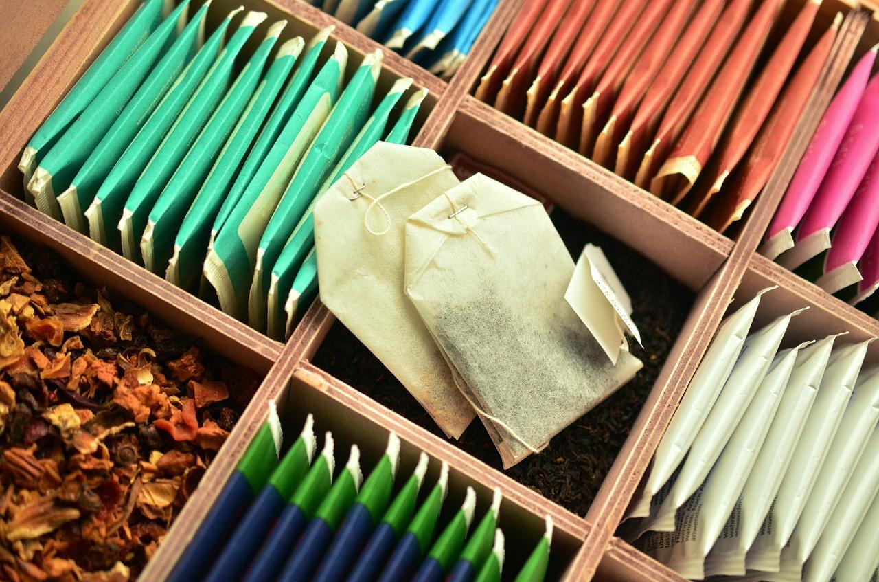 Teesorten aus Teeshop